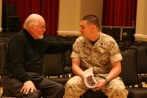 Ted Toulouse with composer John Williams